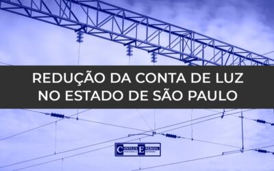 SÃO PAULO: REDUÇÃO NAS CONTAS DE LUZ